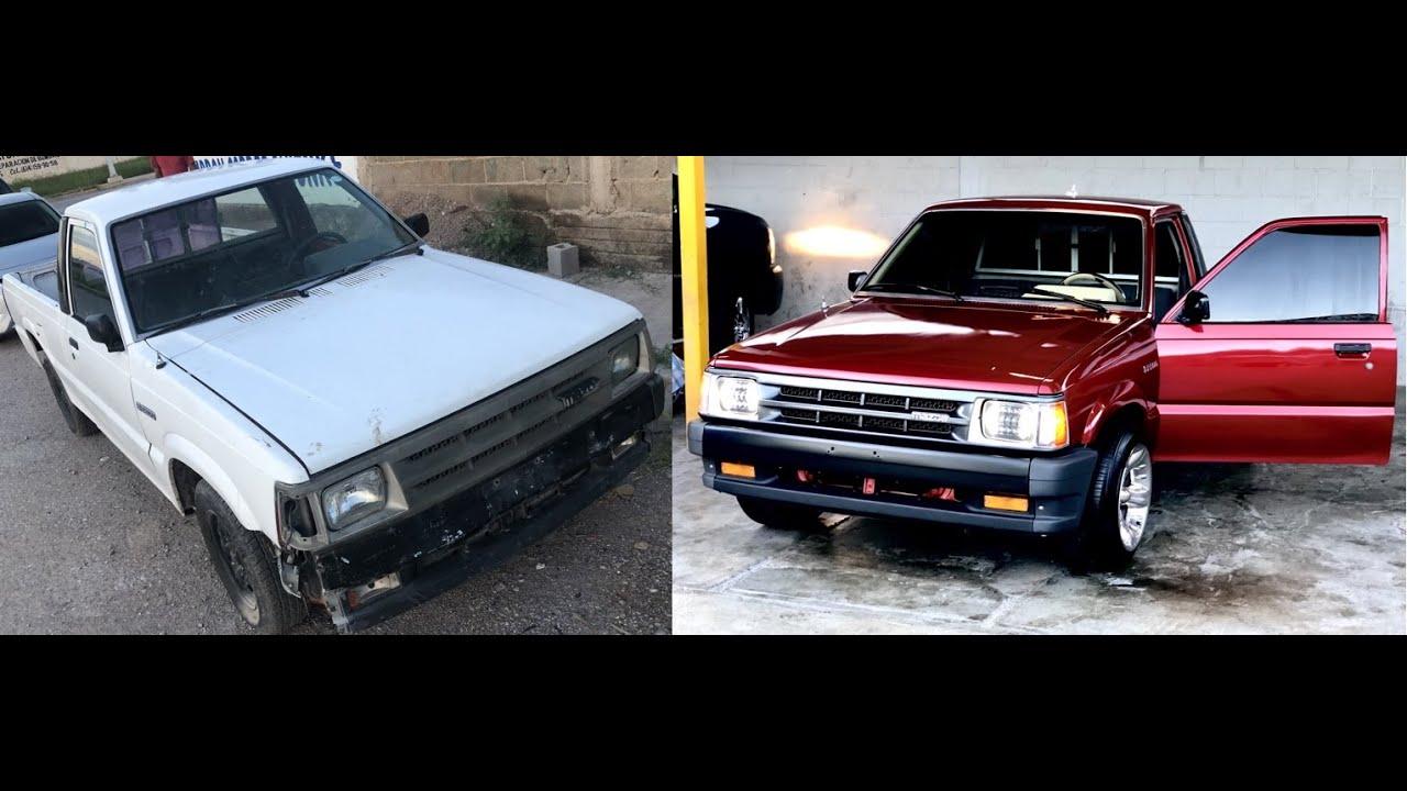 Restaurando una Mazda B-2200 del Yonke