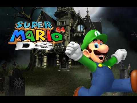 Super Mario 64 DS - Big Boo Battle (Unlocking Luigi) - (NDS)