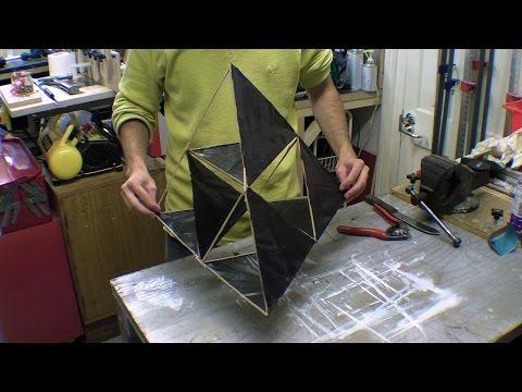 Bamboo Tetrahedral Kite / Tetrahedron