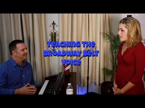 Ep #18 - Teaching The Broadway Belt Voice - Jeff Alani Stanfill