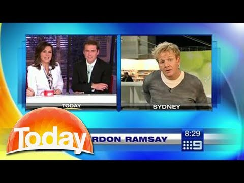 Gordon Ramsay walks out of live interview -