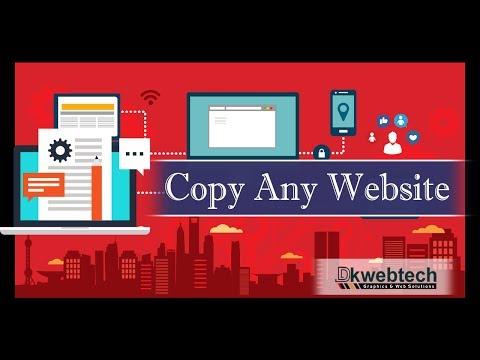Copy any HTML Website - Landing Page - Slider - Menu - in Hindi 27