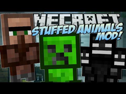 Minecraft   STUFFED ANIMALS MOD (Lucky Presents & Trayaurus Plushies!)   Mod Showcase