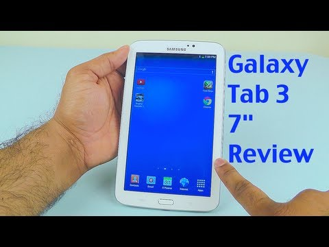 Samsung Galaxy Tab 3 7.0 Review - with Latest Firmware Update