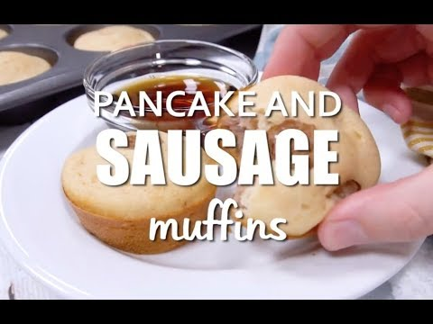 How to make: Easy Pancake and Sausage Muffins