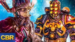 Galactus Is More Powerful Than The Celestials