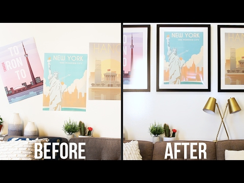 Upgrade Your Poster With A Custom Mat & Frame