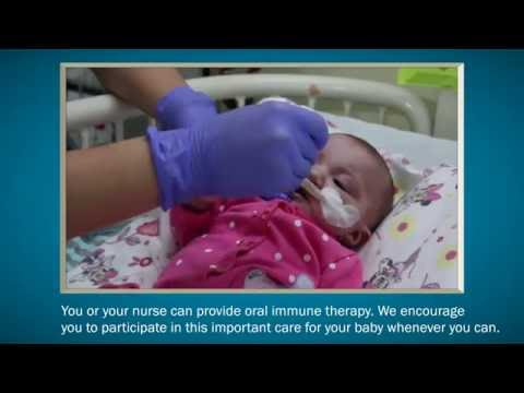 Breast milk mouth care: Boost your baby's immune system