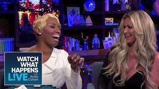 NeNe Leakes Plays Plead the Fifth with Kim! | RHOA | WWHL