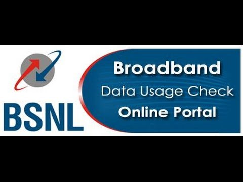 How To Check BSNL Broadband Usage