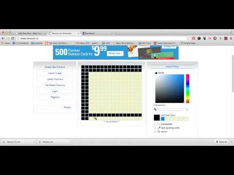 Create Favicons with Favicon.ico Generator
