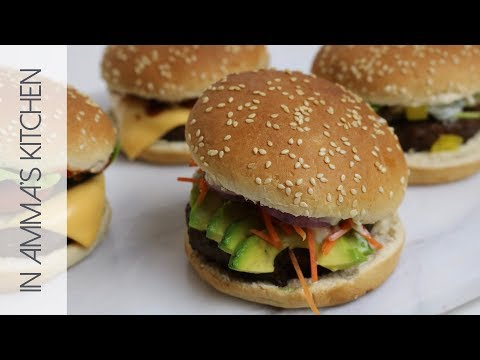 4 Quick and Easy Burger Recipes