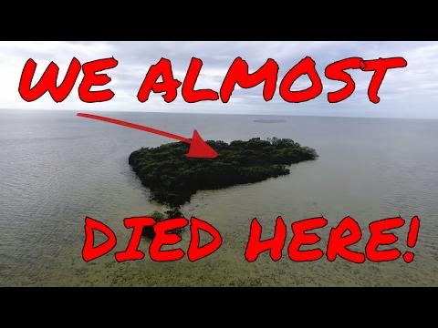 (ALMOST DIED) STRANDED ON ISLAND - 24 HOUR OVERNIGHT CHALLENGE! | OmarGoshTV
