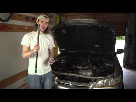How to Replace the Motor Mount on a Honda Accord