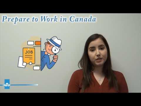 Prepare to Work in Canada