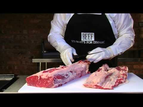 Cutting and Separating the Ribeye