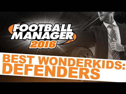 Football Manager 2016 Best Wonderkids: Defenders