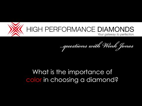 4C's: What Is The Importance Of Color In Choosing A Diamond?