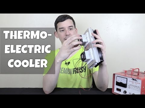 Peltier Thermoelectric Cooler