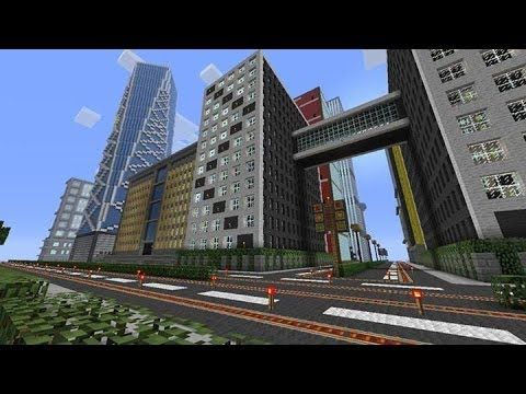 Minecraft Xbox - Fully complete Modern City