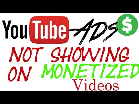 | Problem Solved | YouTube Ads Not Showing On Monetized Videos | Hindi Tutorials |