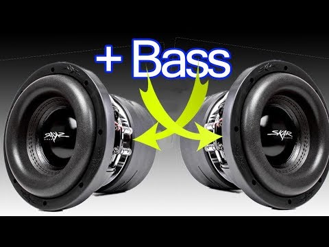 How to increase bass in subwoofer box. Box design increases the magnetic field strength