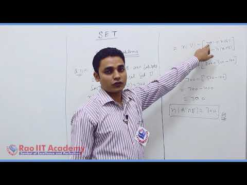 Set Relation Function Maths Part-5 std 11th HSC Board Video Lecture BY Rao IIT