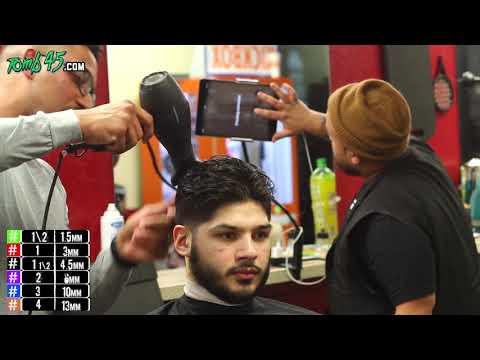 Barber Tutorial | Pompadour Taper w/ Scissor work!