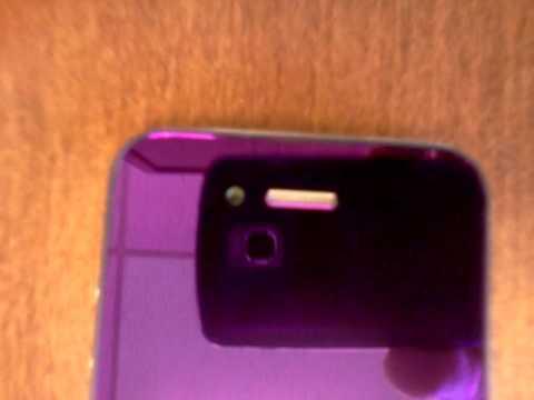 Metallic iPhone 4s Screen