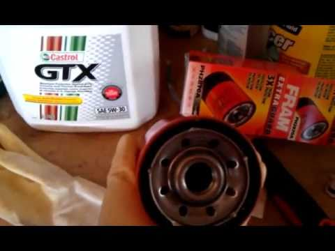 Oil filter changing discussion (FRAM)
