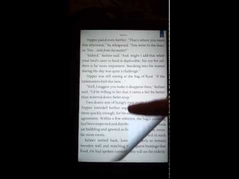Nook HD+ Page Turn