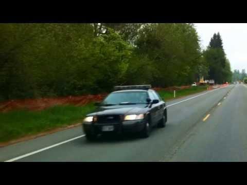 Washington State Patrol instant on radar, highway 92