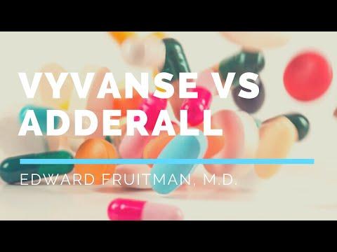 Vyvanse vs Adderall