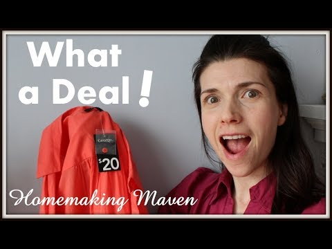 Great BIG Thrift Store HAUL! | 2nd Hand Shopping | Homemaking Maven