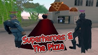 Superheroes In Pakistan | THE PIZZA | Part 16