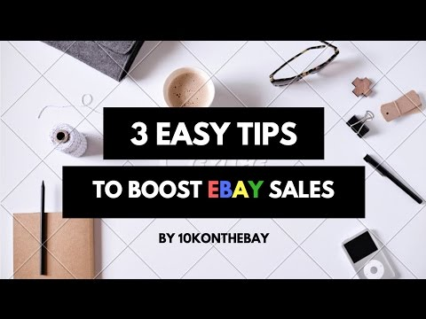 E23: 3 Easy Ways to Boost your eBay Sales, including one that eBay doesn't advertise!