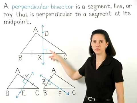 Perpendicular Bisector of a Triangle | MathHelp.com