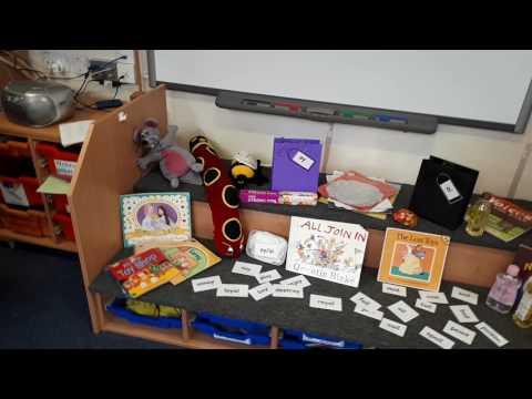 Pre-school UK classroom