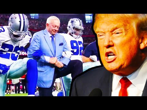 Trump Blasts Dallas Cowboys