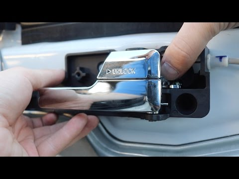 How-to: Replace Ford Fusion Door Handle (EASY)