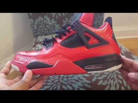 Air Jordan Retro 4 custom
