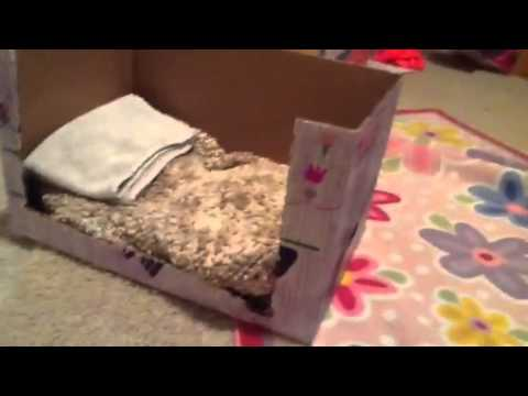 How to make bunk beds for AG and MyLife dolls