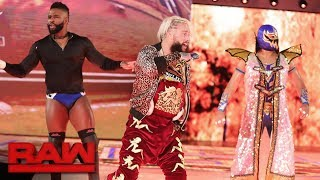 Enzo Amore introduces his partners and opponents: Raw, Sept. 4, 2017