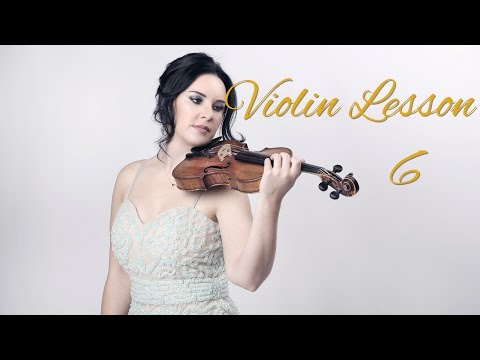 Learn the VIOLIN - Lesson 6/20 - Learning the 1st finger notes