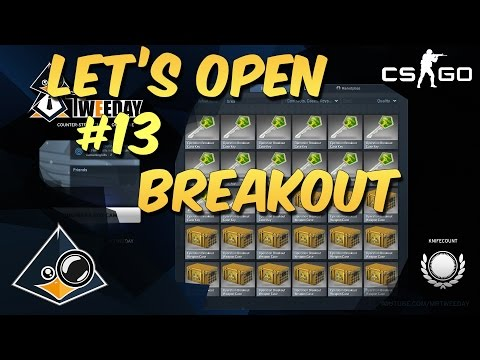 CS:GO - Let's Open Cases #13 Breakout