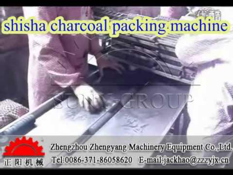 shisha charcoal packing machine-Zhengyang machinery