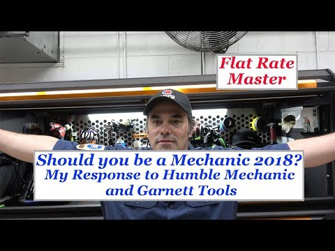 Should you be a Mechanic 2018? My Response to Humble Mechanic and Garnett tools