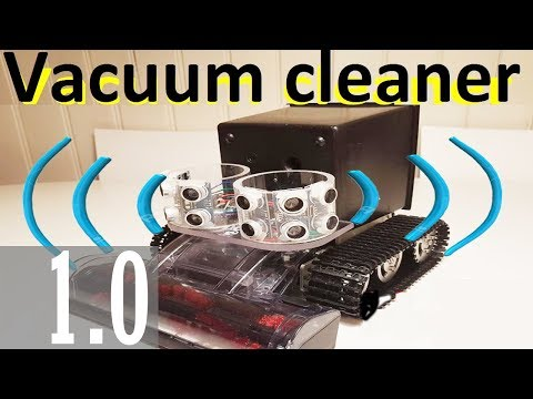 How to make Vacuum Cleaner. Part 1.Autonomous robot 2018. Arduino robot