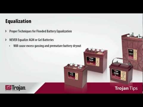 Trojan Tips 5 - Equalization is Key to Extending Battery Life and Performance