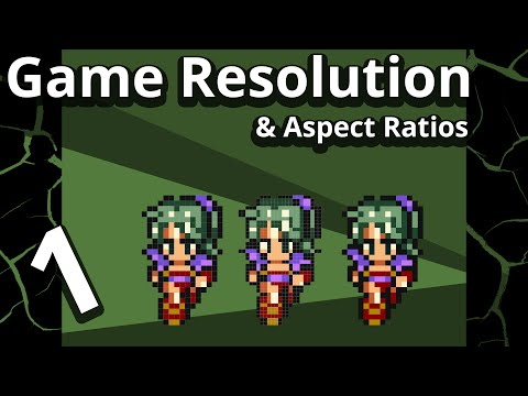 Resolution and Aspect Ratio Management for Game Maker - Part 1
